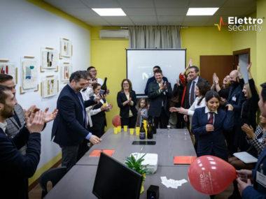 Inaugurazione nuovi spazi Elettro Security