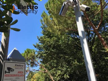 telecamere di Elettro Security per videosorveglianza condominiale