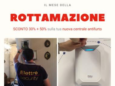 rottamazione antifurto con elettro security